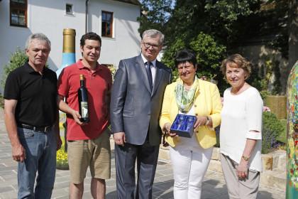 Besuch des tschechischen Senatspräsidenten