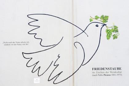 Friedenstaube nach Pablo Picasso