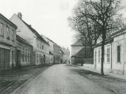 Poysdorfer Körnergasse 19. Jahrhundert