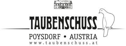 Weingut Taubenschuss Poysdorf Austria Logo (outline)